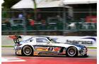 Mercedes SLS AMG GT3, Erebus Racing, Seitenansicht