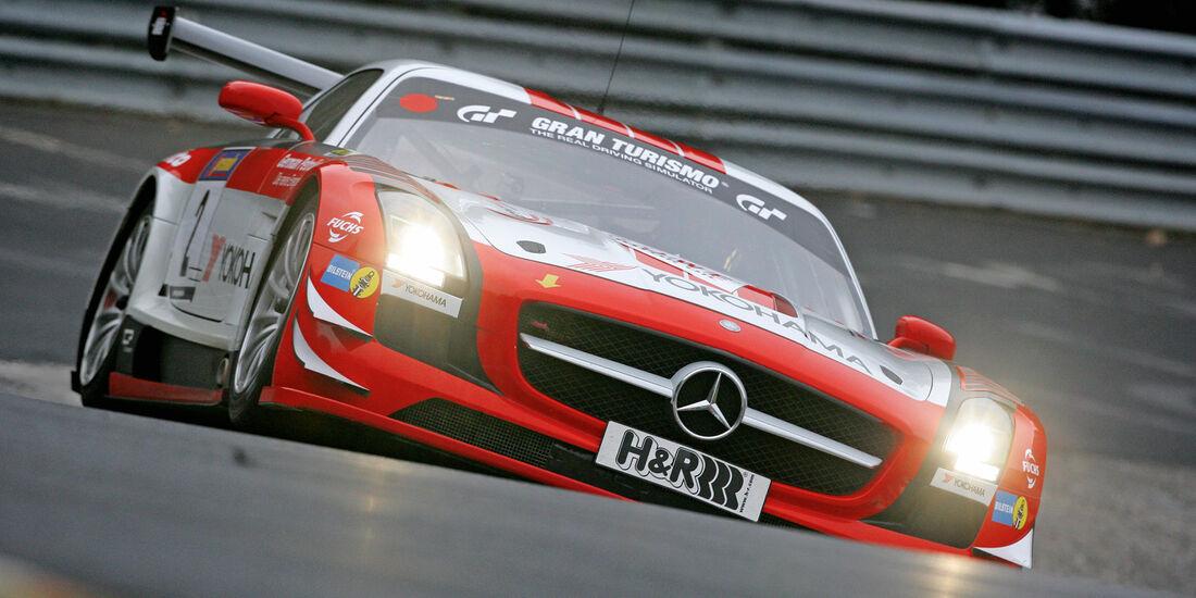 Mercedes SLS AMG GT3, Frontansicht