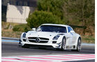Mercedes SLS AMG GT3, G-Private Racing, Frontansicht