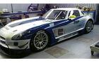 Mercedes SLS AMG GT3, HEICO-GRAVITY CHAROUZ TEAM, Seitenansicht