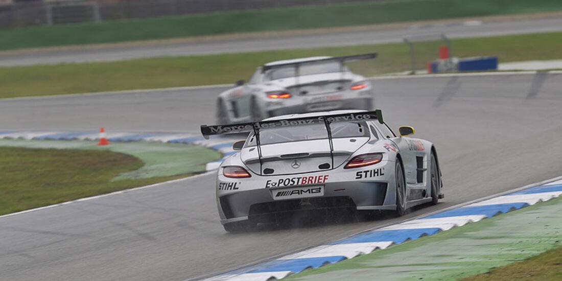Mercedes SLS AMG GT3 Heck