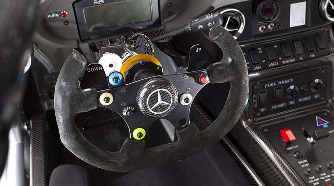 Mercedes SLS AMG GT3 Lenkrad