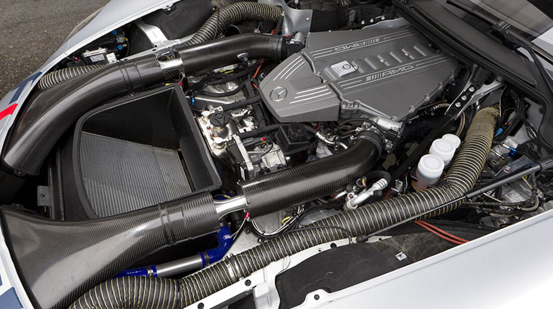 Mercedes SLS AMG GT3 Motor