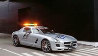 Mercedes SLS AMG GT3, Safety Car, Formel 1, Seitenansicht