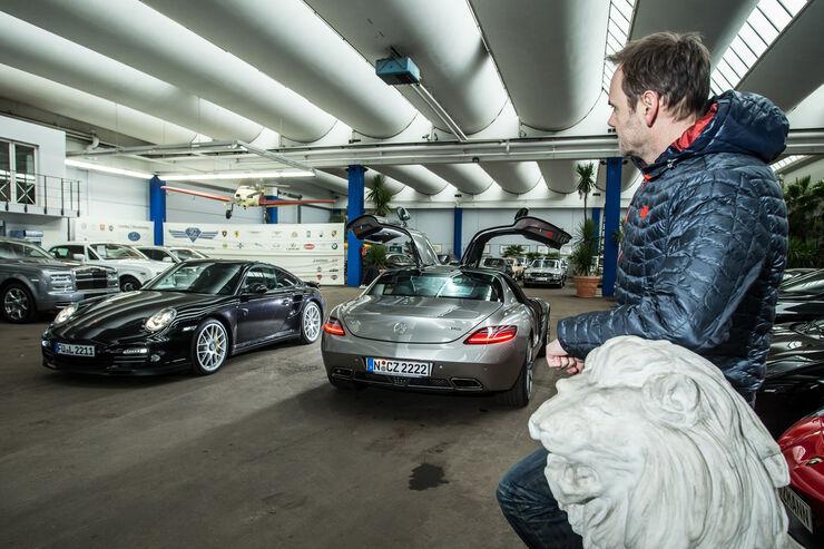 mercedes sls amg und porsche 911 997 turbo gebrauchte sportwagen auto motor und sport. Black Bedroom Furniture Sets. Home Design Ideas