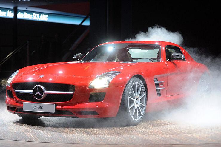 Mercedes SLS AMG Pr�sentation IAA 2009