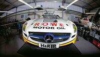 Mercedes SLS AMG, ROWE Racing, Front