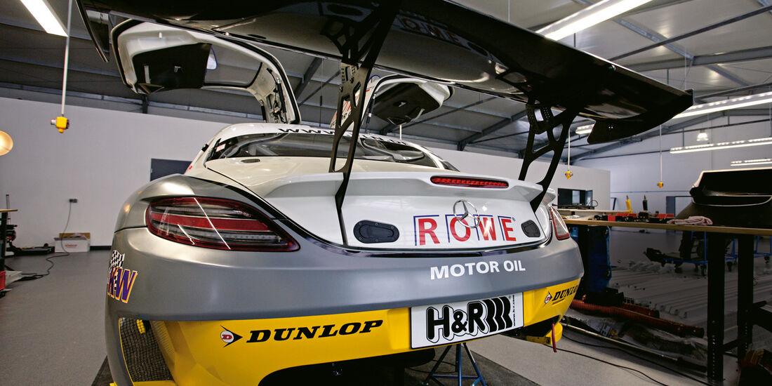 Mercedes SLS AMG, ROWE Racing, Heck