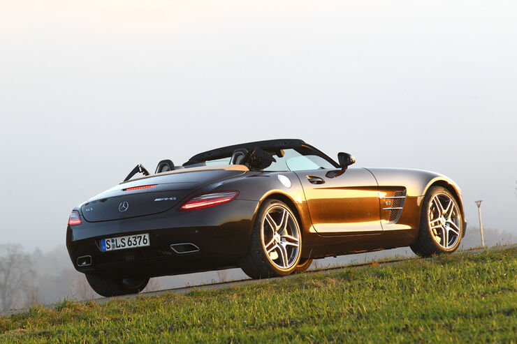 mercedes sls amg roadster im test wie sportlich ist das. Black Bedroom Furniture Sets. Home Design Ideas