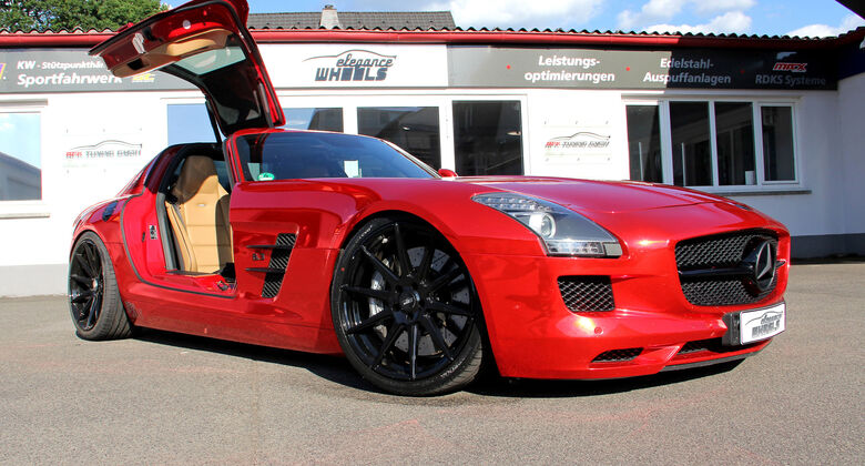 Mercedes SLS AMG by RTK Tuning