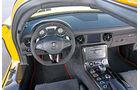 Mercedes SLS Black Series, Cockpit, Lenkrad