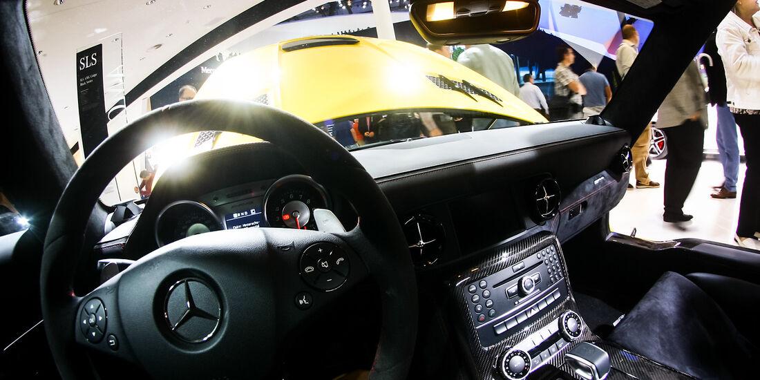 Mercedes SLS auf der IAA 2013