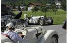 Mercedes SSK und BMW 328 bei der Silvretta Classic 2010
