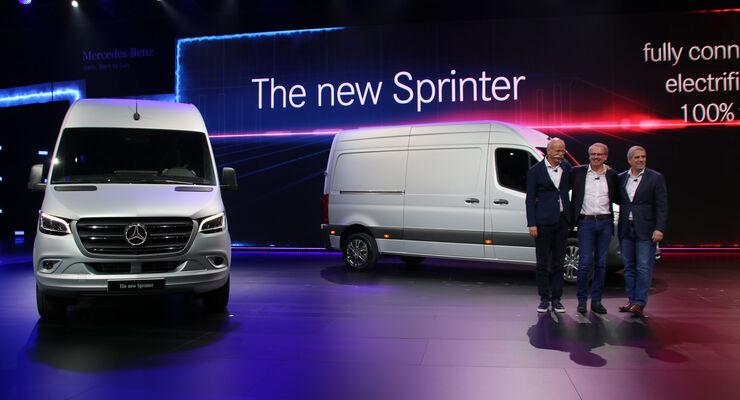 Mercedes Sprinter 2018 Weltpremiere
