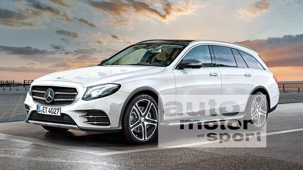 Neues Mercedes E Klasse T Modell Im Konkurrenzvergleich Mit Audi Und