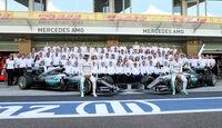 Mercedes - Teamfoto 2016 - GP Abu Dhabi 2016
