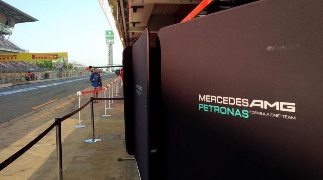 Mercedes - Test Barcelona 2014