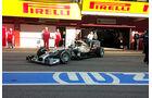 Mercedes - Trompetern-Auspuff - Test Barcelona 2014