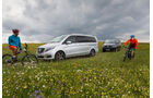 Mercedes V 250 Bluetec, VW Multivan 2.0 BiTDI BMT, Impression