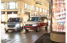 Mercedes V 250 d Lang, VW T6 Multivan 2.0 TDI, Frontansicht
