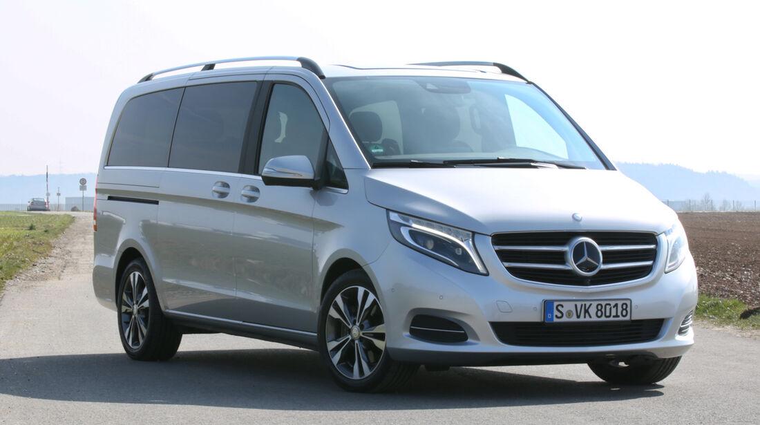 Mercedes V-Klasse, Frontansicht
