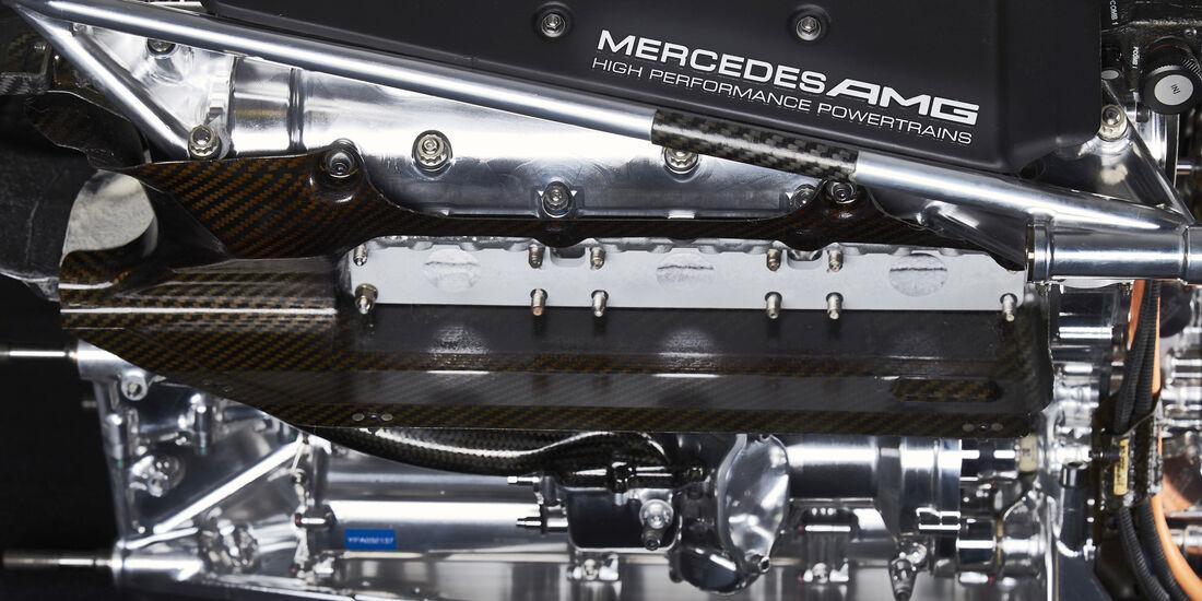 Mercedes - V6 Hybrid - Formel 1-Motor 2015