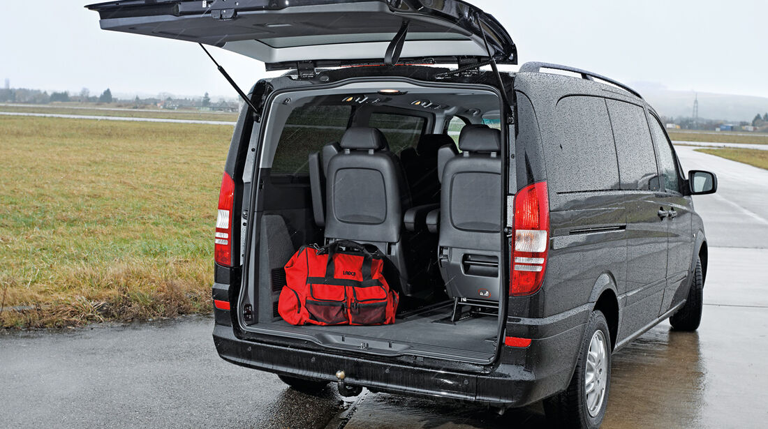 Mercedes Viano 3.0 CDI lang, Kofferraum