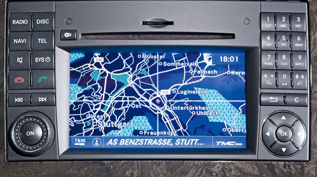 Mercedes Viano 3.0 CDI lang, Navi