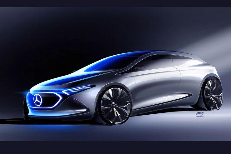 Mercedes Vision EQA IAA 2017