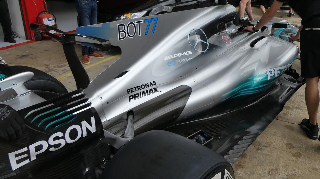 Mercedes W08 - GP Spanien 2017