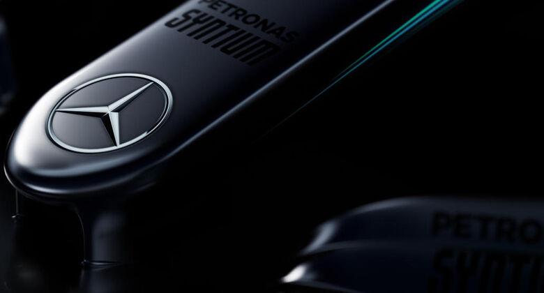 Mercedes W08 - Teaserbild - F1 2017