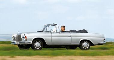 Mercedes W111 Coupé und Cabrio, Seitenansicht