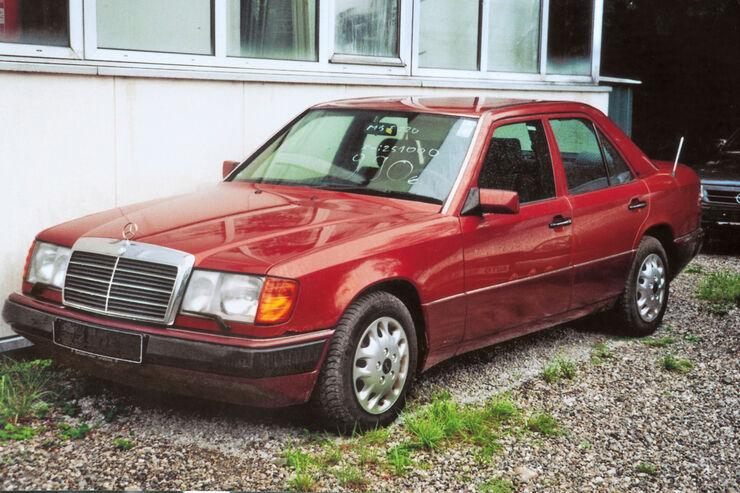 Mercedes W124, Frontansicht