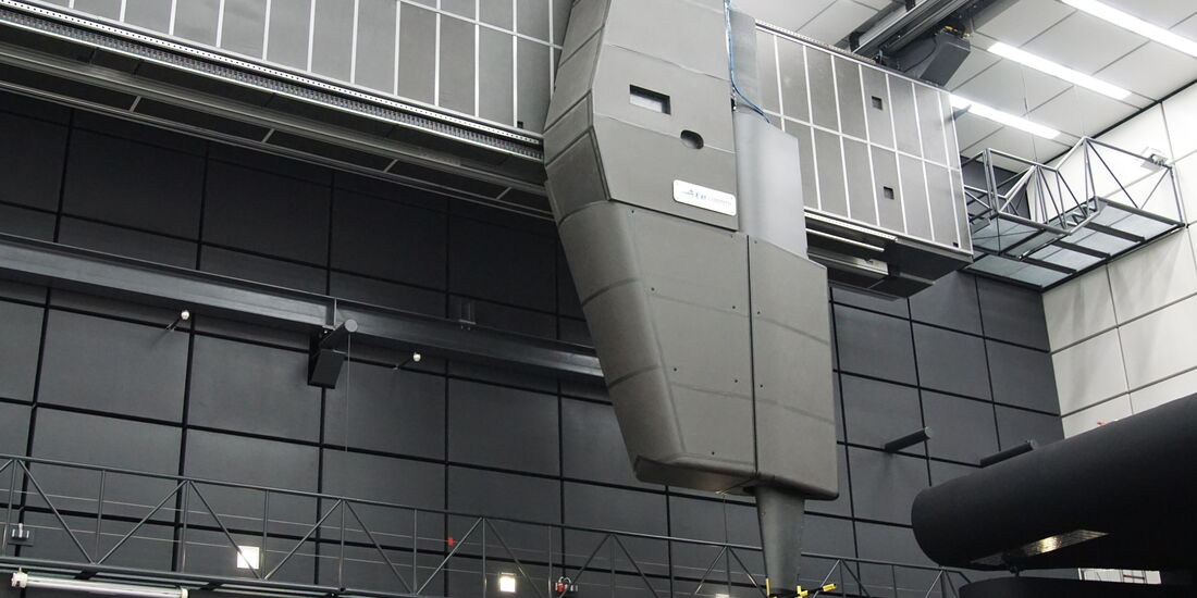 Mercedes Windkanal Sindelfingen Entwicklungszentrum