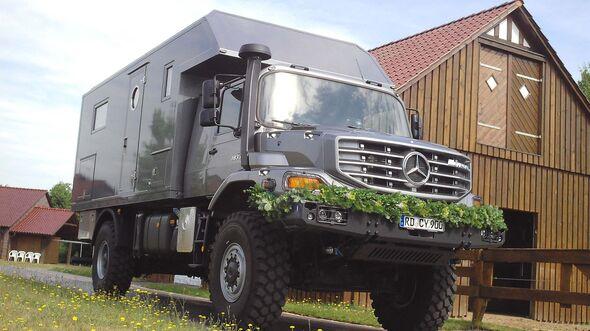 """Mercedes Zetros 4x4 Expeditionsmobil """"Cytros"""""""