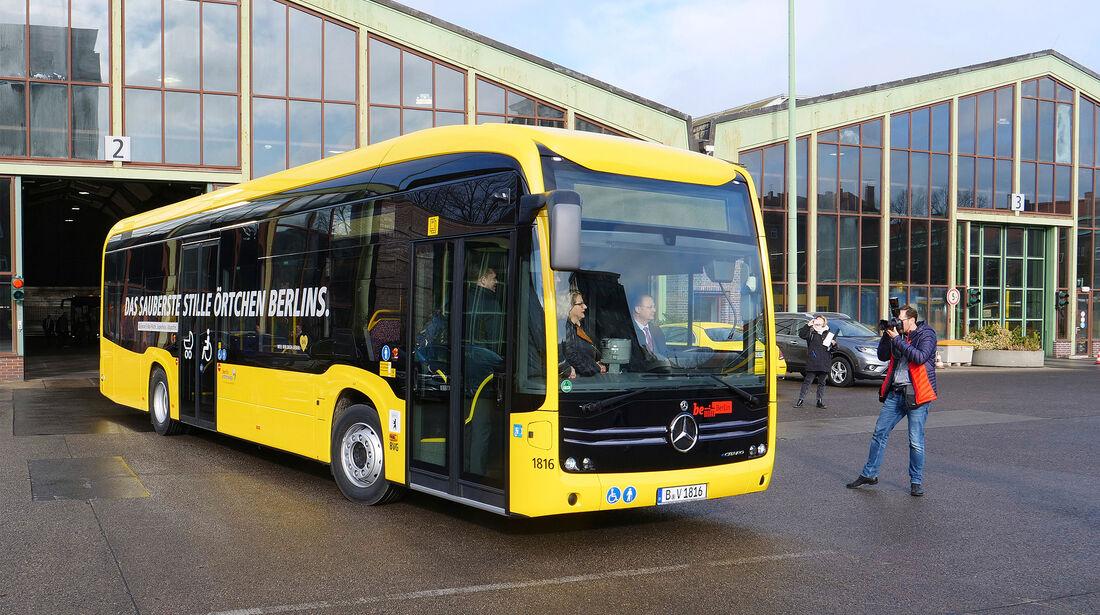 Mercedes eCitaro BVG