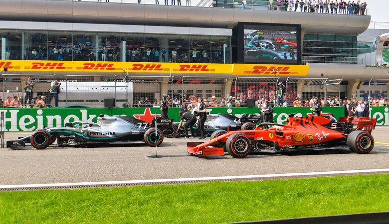 Mercedes vs. Ferrari - GP China 2019