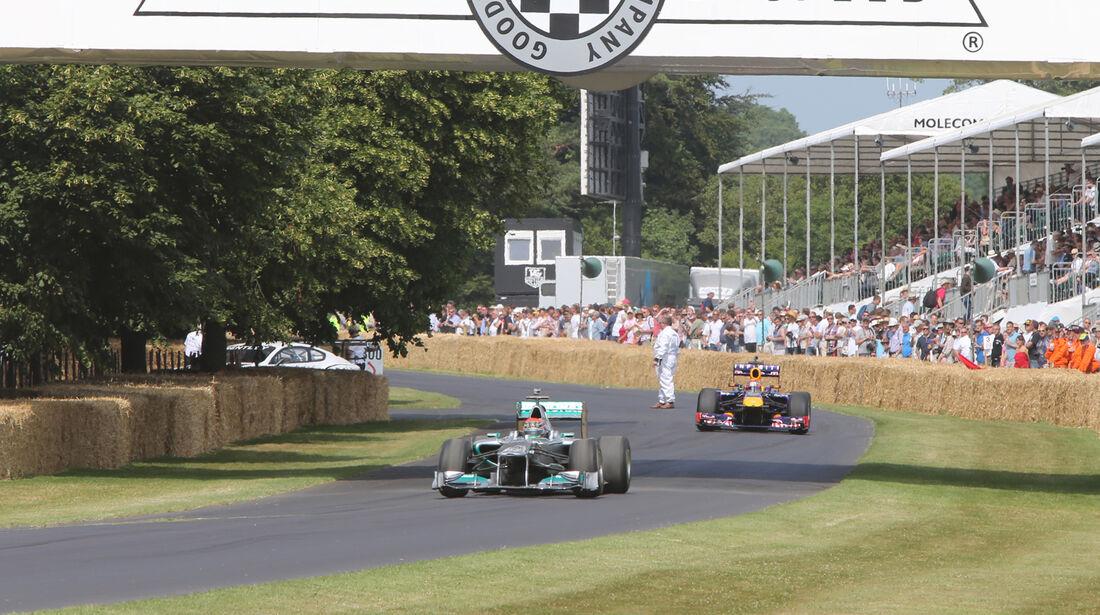 Mercedes vs. Red Bull - Goodwood 2013