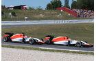 Merhi & Stevens - Manor Marussia - GP Spanien 2015