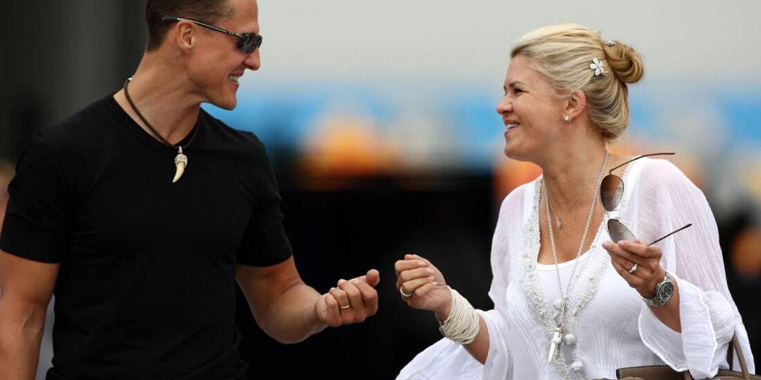 Michael Schumacher Corinna Schumacher