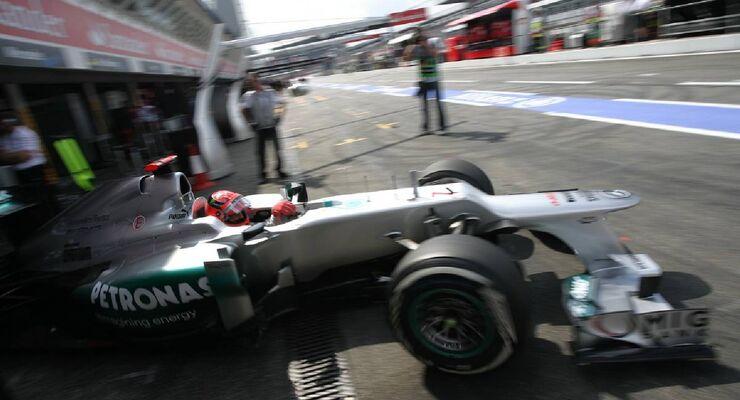 Michael Schumacher - Formel 1 - GP Deutschland - 21. Juli 2012