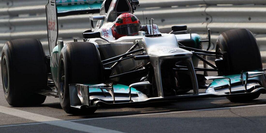 Michael Schumacher - Formel 1 - GP Indien - 26. Oktober 2012