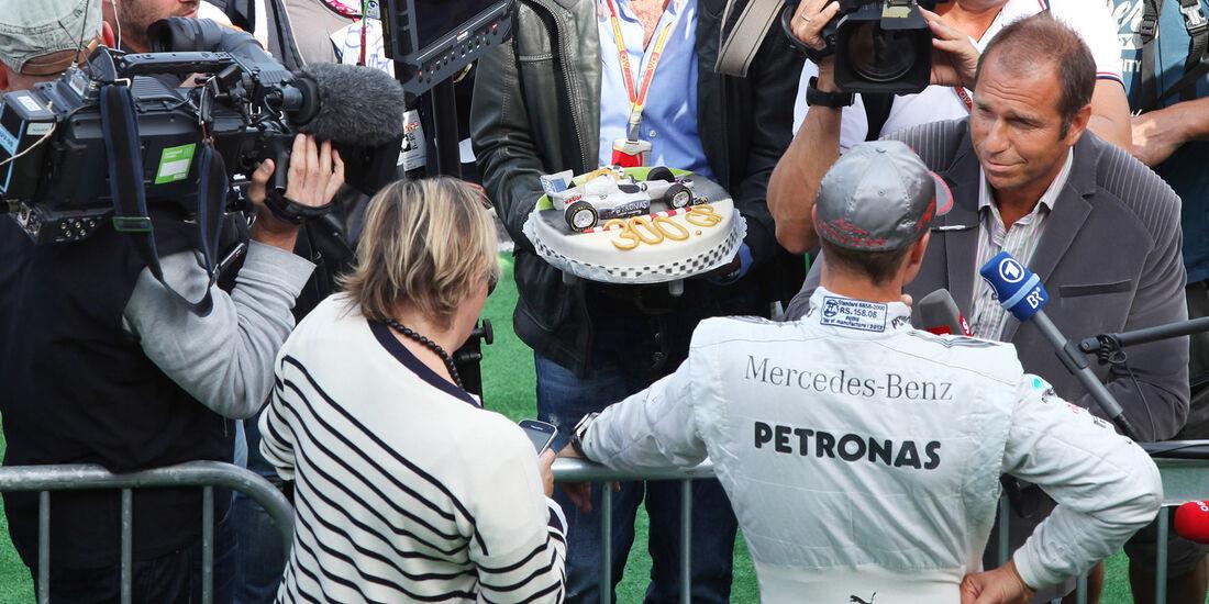 Michael Schumacher - GP Belgien 2012