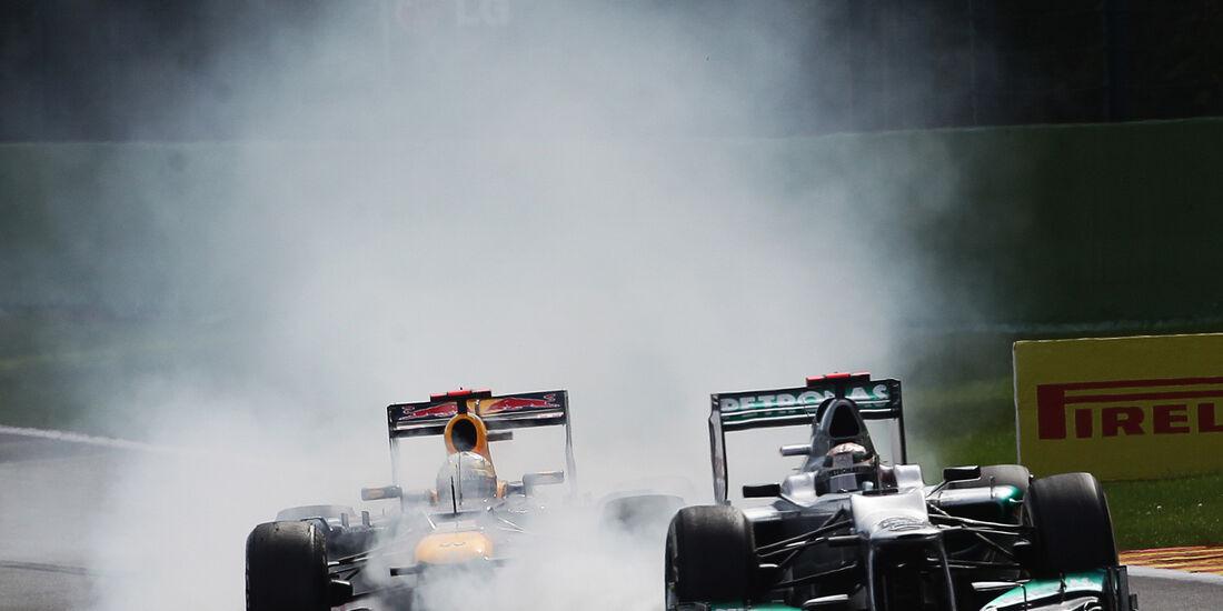 Michael Schumacher GP Belgien 2012
