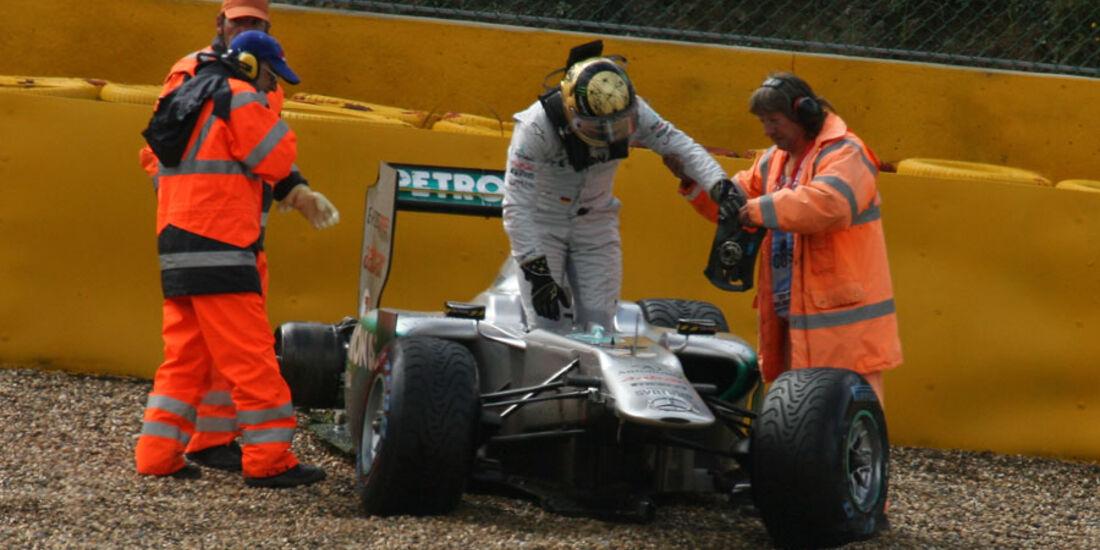 Michael Schumacher - GP Belgien - Qualifying - 27.8.2011
