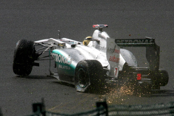 Michael Schumacher - GP Belgien - Qualifying - 27.8.2011