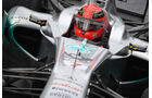 Michael Schumacher - GP England - Training - Silverstone - 8. Juli 2011