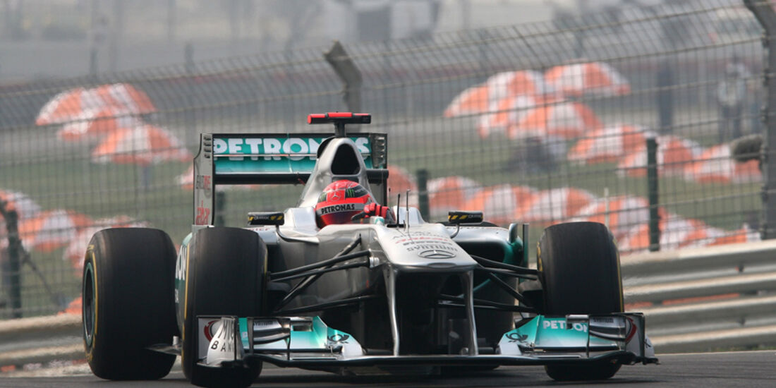 Michael Schumacher - GP Indien - Training - 28.10.2011