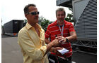 Michael Schumacher - GP Italien - 8. September 2011