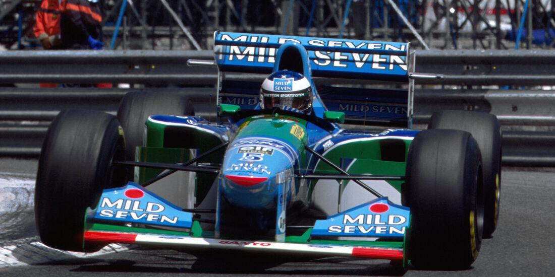 Michael Schumacher - GP Monaco 1994